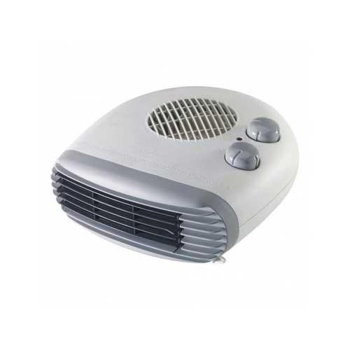 Вентилаторна печка с метален корпус сива