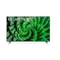 "Телевизор LG 55UN80003LA, LED, Smart TV, 55"" (139.70 см), 4K IPS UltraHD TV 3840 x 2160, DVB-T2/C/S2, webOS Smart TV, ThinQ AI, Quad Core Processor 4K, Черен - Телевизори и монитори"