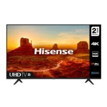 "Телевизор Hisense A7100F 58"", 4K Ultra HD 3840x2160, LED, HDR, Smart TV, WiFi, BT, 3xHDMI, 2xUSB, LAN, DVB-T2/C/S2, Черен - Телевизори"