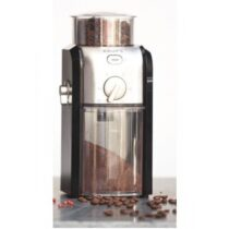 Кафемелачка Krups GVX242, Coffee Grinder Pro Edition, Черен/Хром, 110W - Кафемелачки