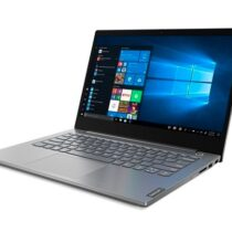 """Lenovo ThinkBook 14 AMD Ryzen 3 4300U (2.7GHz up to 3.7GHz, 4MB), 8GB DDR4 3200MHz, 256GB SSD, 14"""" FHD (1920x1080) IPS, AG, AMD Radeon Graphics, WLAN ac, BT, 720p Cam, Mineral Grey, KB Backlit, FPR, 3 cell, Win 10 Pro, 2Y - Лаптопи"""